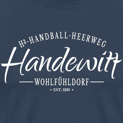 Handewitt - ein Wohlfühldorf - Männer Premium T-Shirt