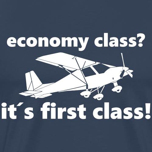 Pilot Flugzeug fliegen Geschenk Klasse T-Shirt - Männer Premium T-Shirt