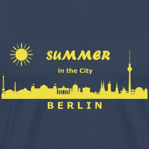 Summer in the City Berlin - Männer Premium T-Shirt