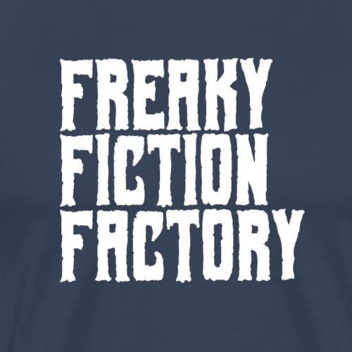 Freaky Fiction Factory Offical Logo Weiß - Männer Premium T-Shirt