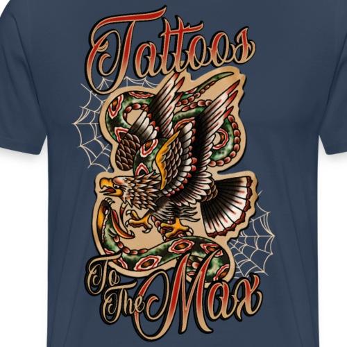 Tattoos to the Max - Eagle - Männer Premium T-Shirt
