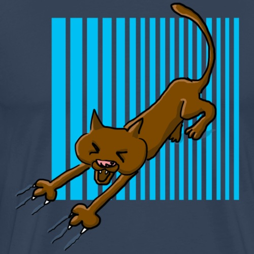 Chat griffes - T-shirt Premium Homme