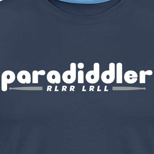 Paradiddler - Männer Premium T-Shirt