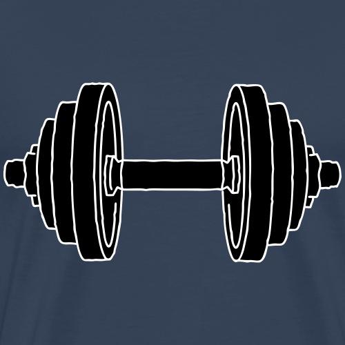HANTEL Krafttraining 2 - Männer Premium T-Shirt