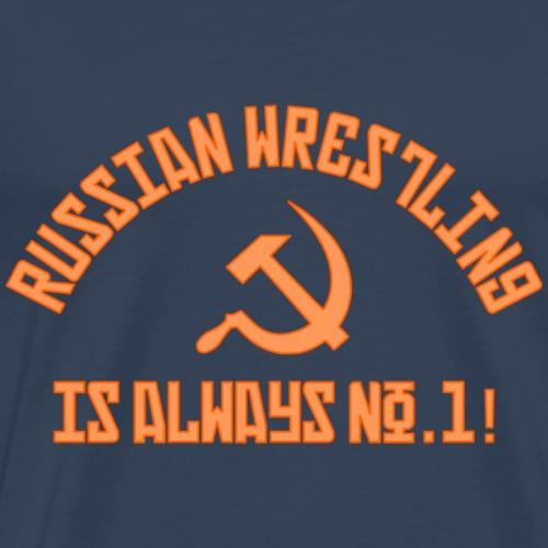 Russian Wrestling no.1 - Men's Premium T-Shirt