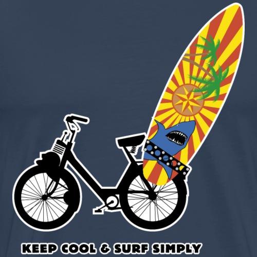 Keep cool & surf simply - - T-shirt Premium Homme