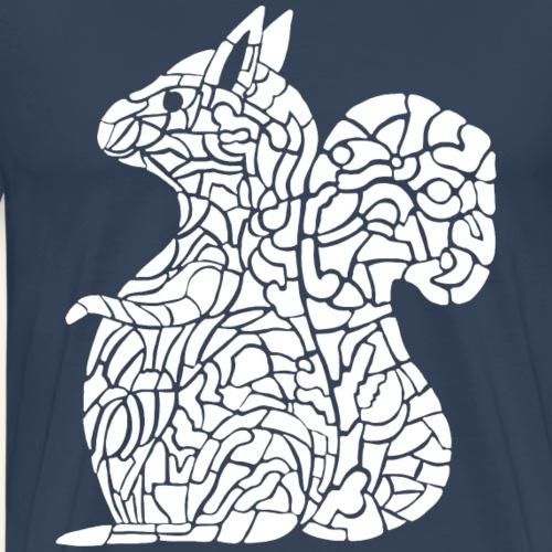 Eichhörnchen Eichhorn Einhorn - Männer Premium T-Shirt