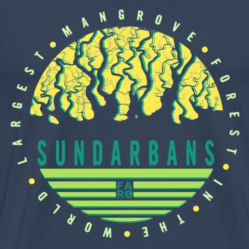 Sundarbans Green/Yellow - Männer Premium T-Shirt