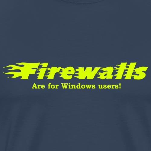 Firewalls - Maglietta Premium da uomo