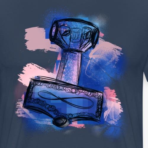 Mjölner By TheRawburt - Premium-T-shirt herr