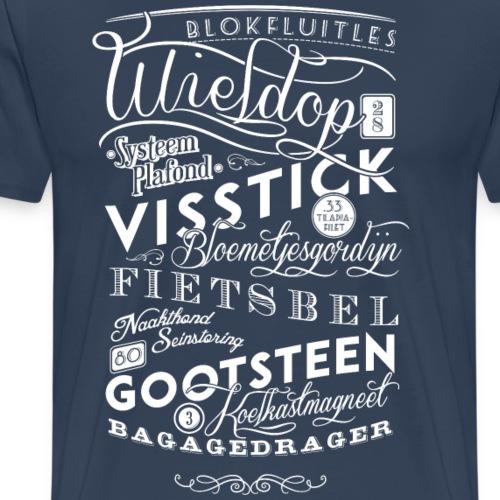 Blokfluitles - Mannen Premium T-shirt