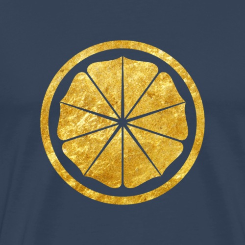 Seishinkai Karate Kamon in gold - Men's Premium T-Shirt
