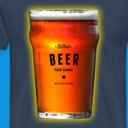 Chilled Beer - Men's Premium T-Shirt