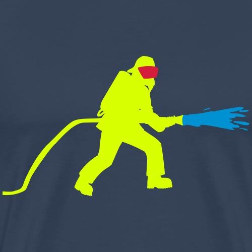 pompiers lance - T-shirt Premium Homme