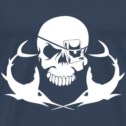 Schwertfisch Jolly roger - Männer Premium T-Shirt