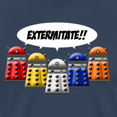 dalek exterminate - Men's Premium T-Shirt