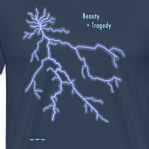 Beauty and Tragedy - Men's Premium T-Shirt