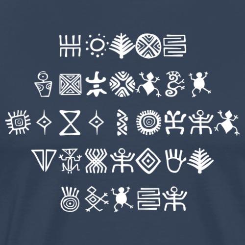 African signs - Männer Premium T-Shirt