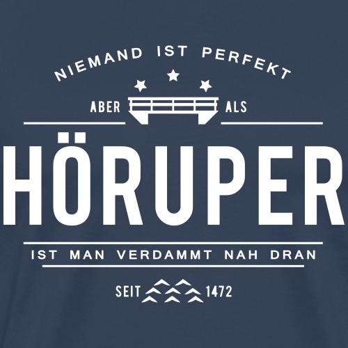 Hörup - ganz nah dran! - Männer Premium T-Shirt