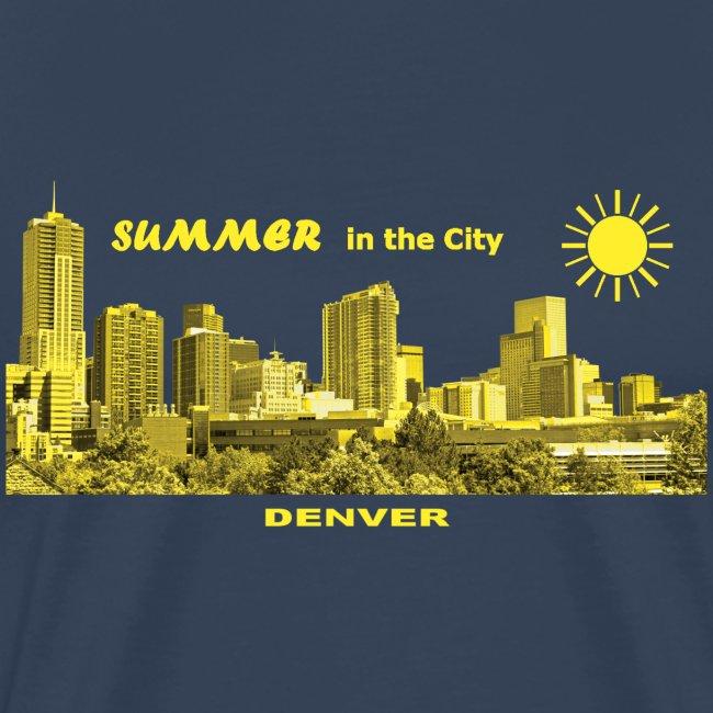 Summer in the City Denver Colorado USA
