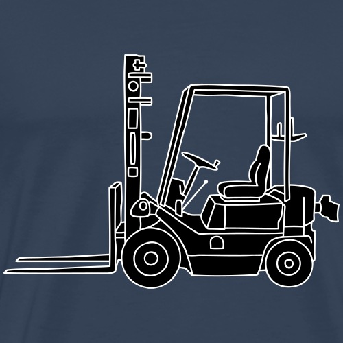 Gabelstapeler 2 - Männer Premium T-Shirt