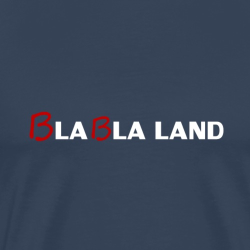 Bla bla land (blanc) - T-shirt Premium Homme