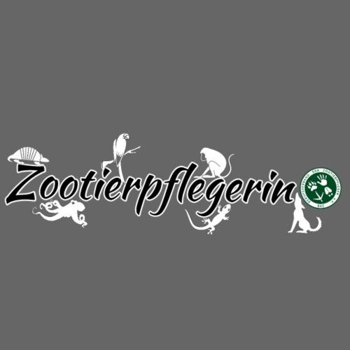 Zootierpflegerin, Logo - Männer Premium T-Shirt