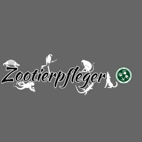 Zootierpfleger, Logo - Männer Premium T-Shirt