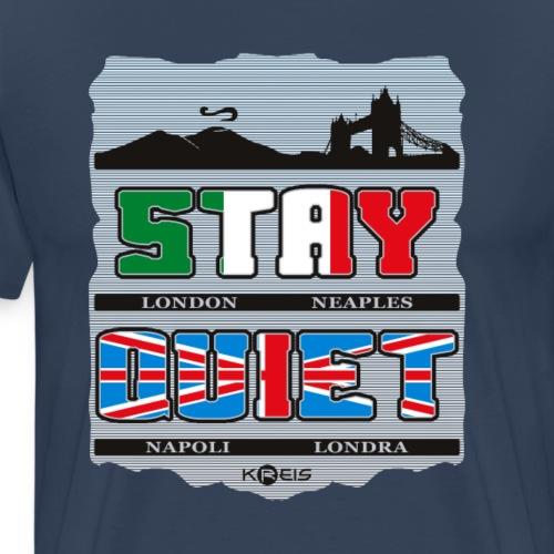 Stay Quiet _ byTed - Maglietta Premium da uomo