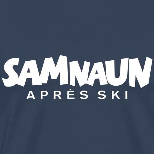 Samnaun Apres Ski für Wintersportler - Männer Premium T-Shirt