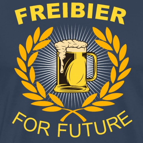 Freibier for future - Männer Premium T-Shirt