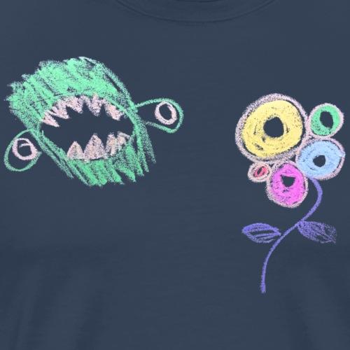 i-hate-flowers - Mannen Premium T-shirt