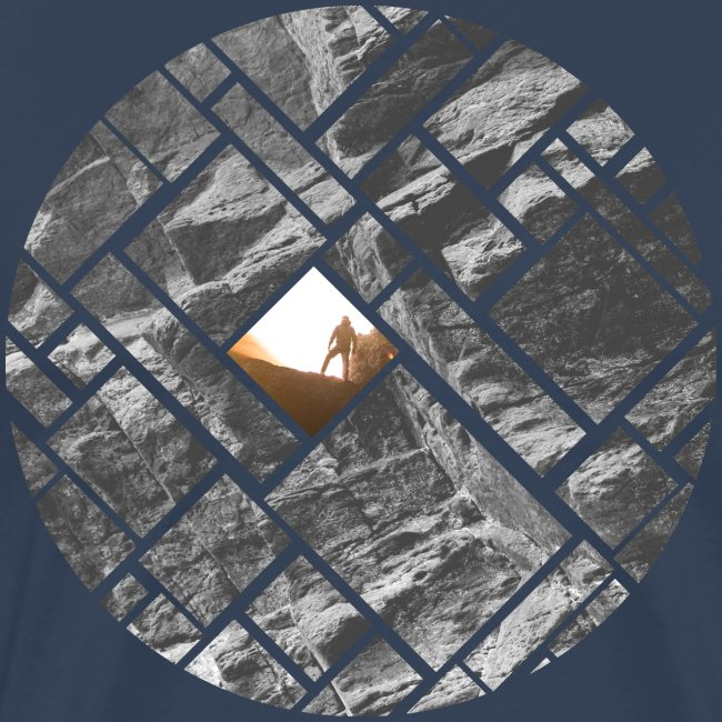 Felsklettern Bouldern Grafisches Design