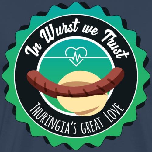 In Wurst we Trust - Männer Premium T-Shirt