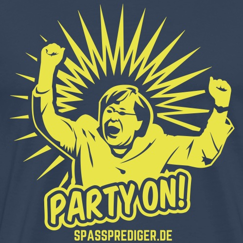 Mallorca T Shirt Design lustiger Spruch Party on! - Männer Premium T-Shirt