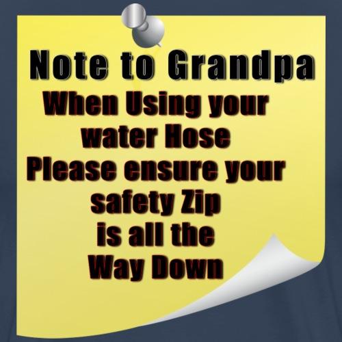 Note to Grandpa