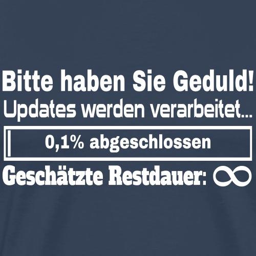 Update Ladebalken - Männer Premium T-Shirt