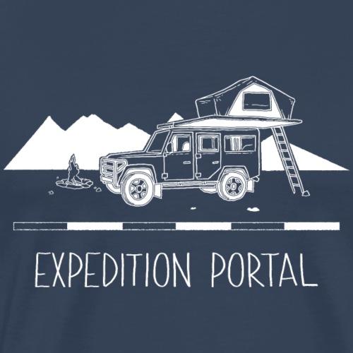 Expedition Portal - Männer Premium T-Shirt