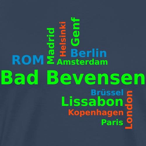 City_Europa_BadBevensen - Männer Premium T-Shirt