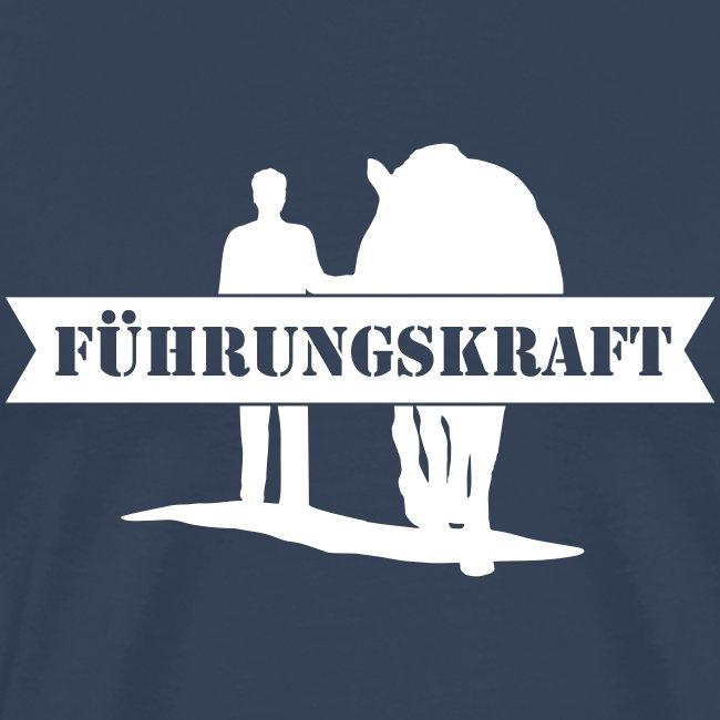Vorschau: Führungskraft Pferd male - Männer Premium T-Shirt