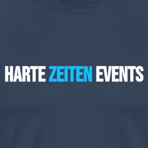 Schriftzug NEU Harte Zeiten - Männer Premium T-Shirt