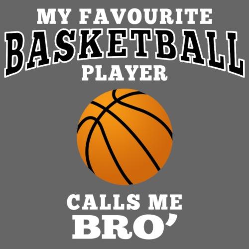 Bro's favourite basketball player - Männer Premium T-Shirt