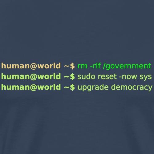 sudo reset - Männer Premium T-Shirt