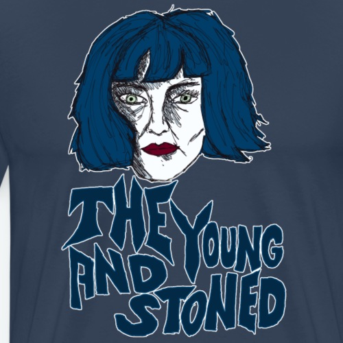 the young and stoned - Männer Premium T-Shirt
