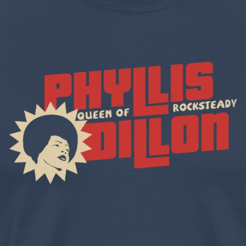 PhyllisDillon Queen of rocksteady - Camiseta premium hombre