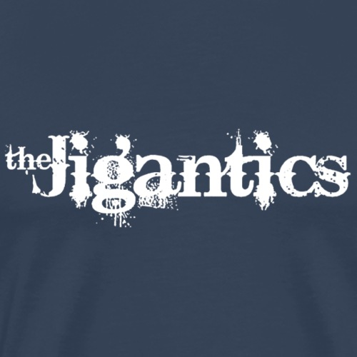 The Jigantics - white logo - Men's Premium T-Shirt