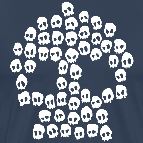 Totenköpfe - Männer Premium T-Shirt
