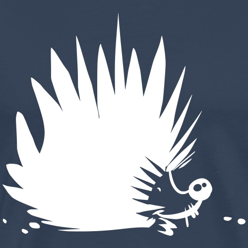 Igel Punk - Männer Premium T-Shirt