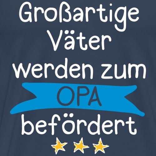 Großartige Väter 02 - Männer Premium T-Shirt