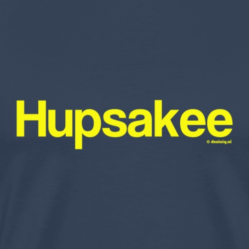 Hupsakee - Mannen Premium T-shirt